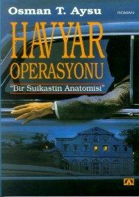 Havyar Operasyonu Kitap Kapağı