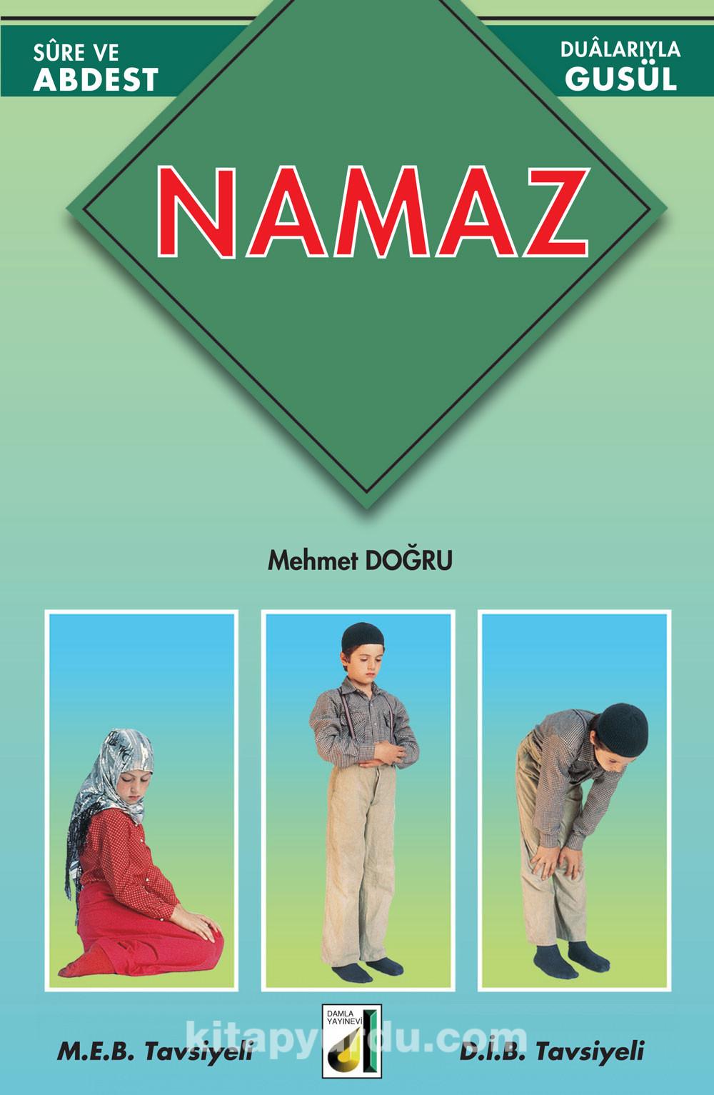 Resimlerle Namaz Kitap Kapağı